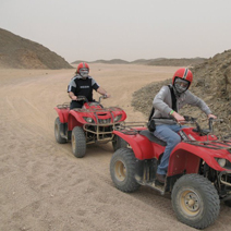 Sun rise Desert Safari Trip by Quad Bike in Hurghada