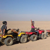 Sunset Desert Safari Trip by Quad Bike in Hurghada